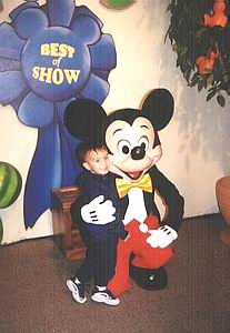 Austin & Mickey Mouse