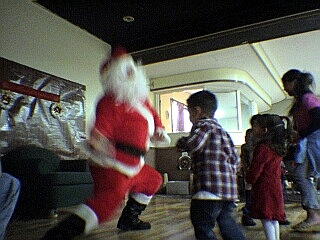 Santa's got the moves.
