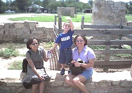 At Fort Concho